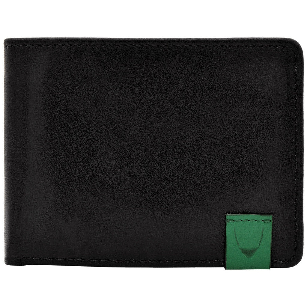 Hidesign Dylan Slim Thin Simple Leather Bifold Wallet