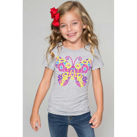 Butterfly Tee - Girls