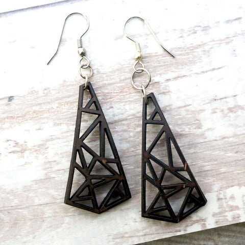 Coconut Modern Chandelier Earrings
