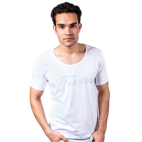 Tender - Wide Neck Men T-Shirt