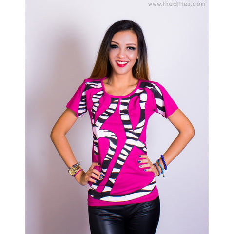 HL Zebra - U neck T-shirt