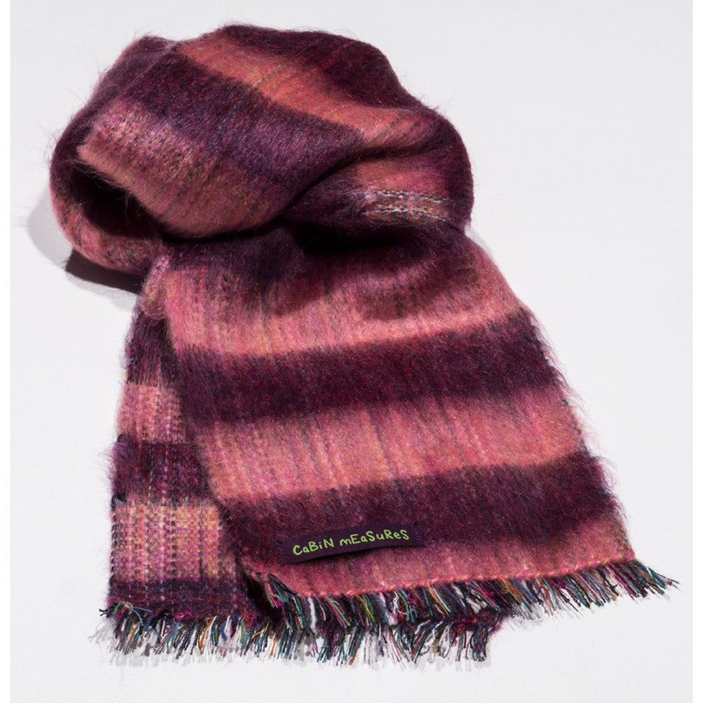 Kids Berry/Pink Scarf