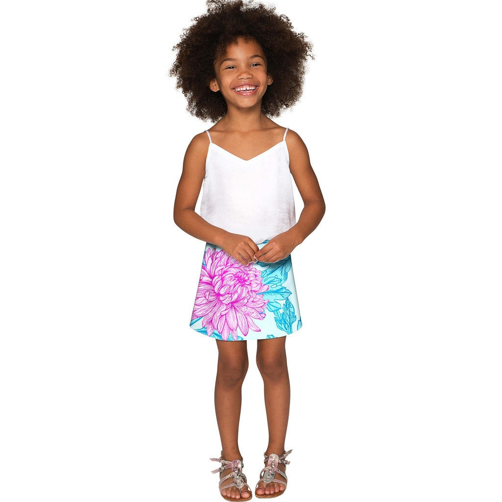 Floral Bliss Aria A-Line Skirt - Girls