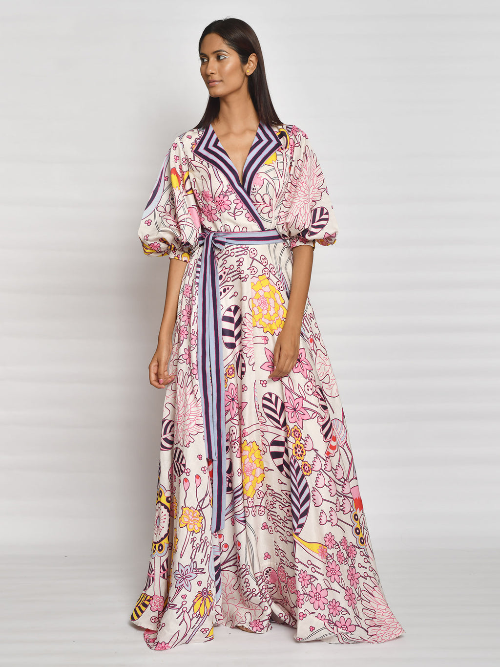 dress, longdress, maxis, maxidress, printeddress, prints, style, inbloom, swativijaivargie
