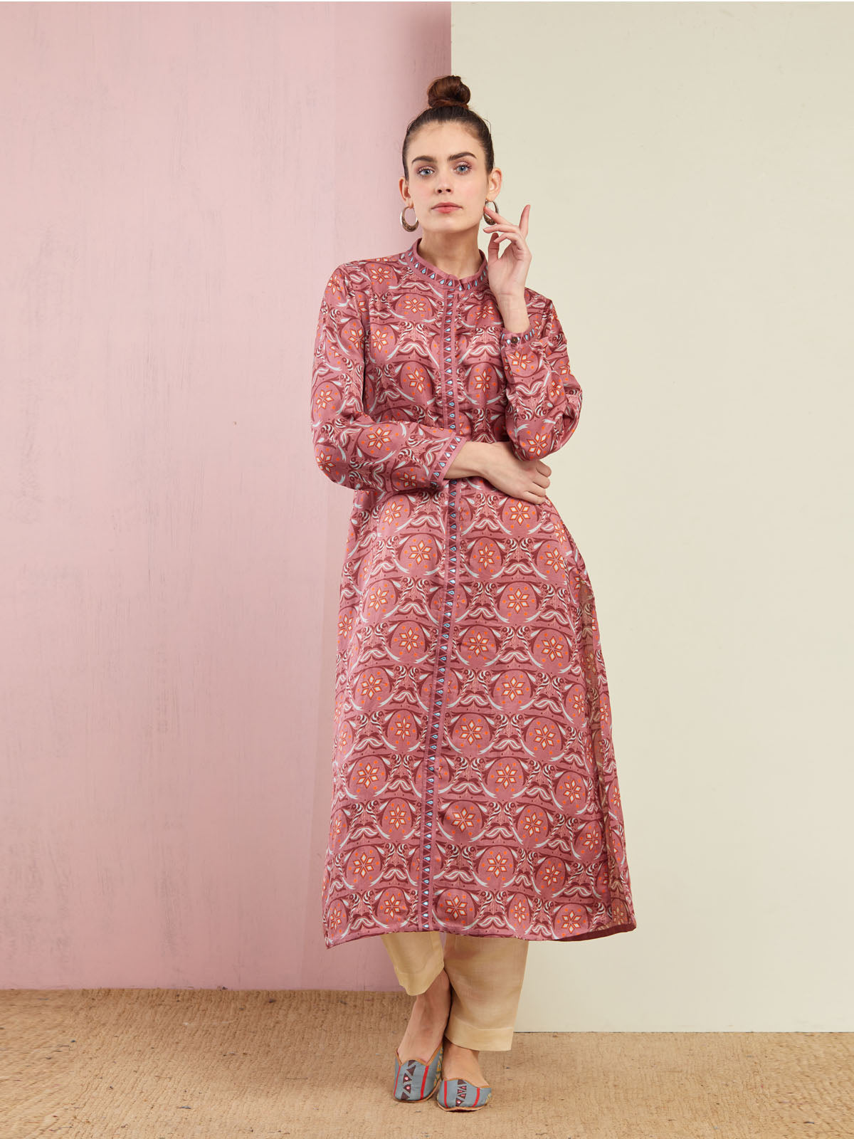 ROSE TOTA TARA KURTA WITH PANTS