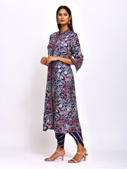 MORBAGH NAVY BLUE KURTA