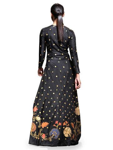 embroidered jacket. Indowestern