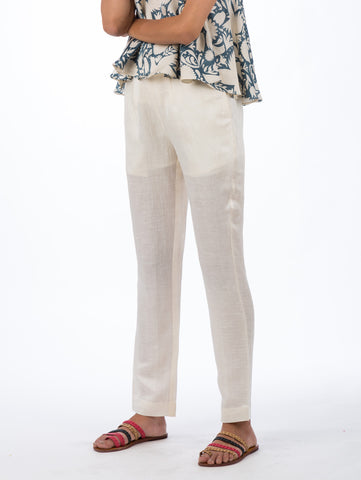 Off White Straight Pants