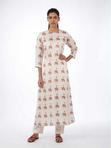 LOVEFORSTRIPES, COTTON, KURTA, TUNIC,PRINTED