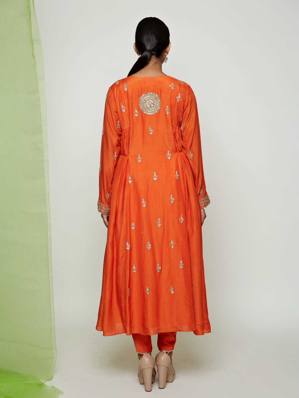 ORANGE MaRODI KURTA SET