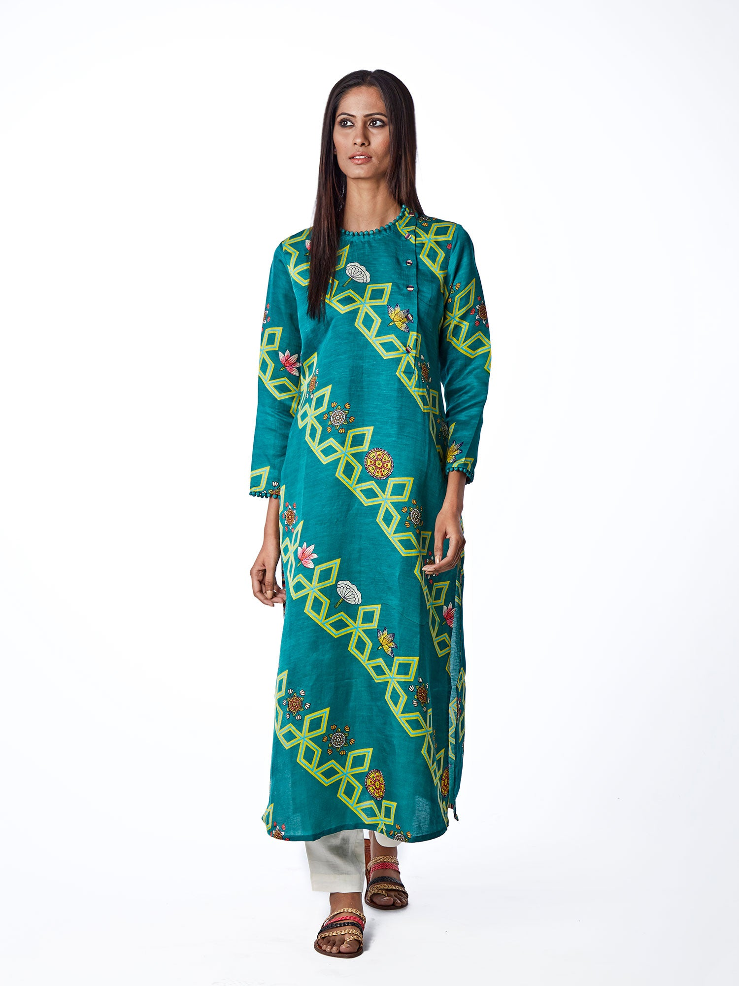 KURTA, TUNIC, PRINTS, INDIAN APPAREL, TRADITIONAL, ETHNICWEAR, KURTA SETS