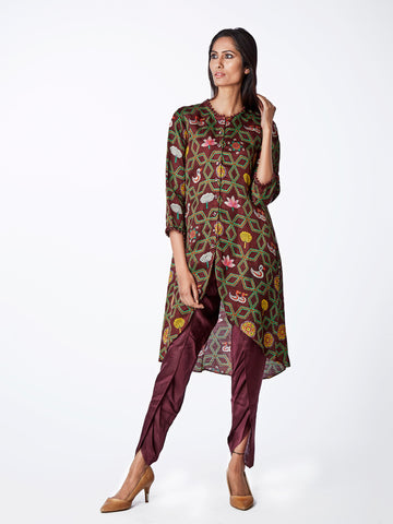 KURTA, TUNIC, PRINTS, INDIAN APPAREL, TRADITIONAL, ETHNICWEAR, KURTA SETS, DHOTI PANTS