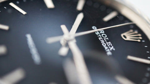 A Precision dial as seen on a Rolex Oysterdate 6694, 1969 Men's Vintage Watch