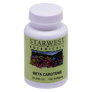 Beta Carotene Softgels - The Posh Lyfe Style