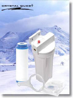 CRYSTAL QUEST®  Refrigerator Water Filter and Ice Maker Water Filters