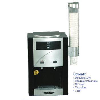 CRYSTAL QUEST® Turbo Ultrafiltration Countertop Water Cooler - The Posh Lyfe Style
