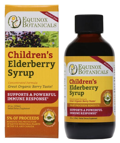 Children's Elderberry Syrup - The Posh Lyfe Style