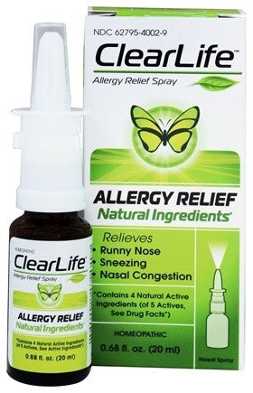 ClearLife Allergy Relief Spray - The Posh Lyfe Style