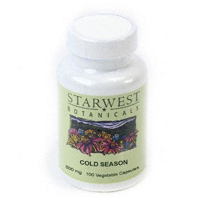 Cold Season Supplement Capsules (100 Vegetable Capsules) - The Posh Lyfe Style