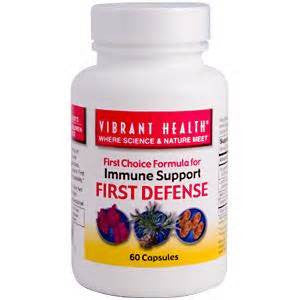 First Defense Vibrant Health (60 Capsules fast-acting immune support formula) - The Posh Lyfe Style