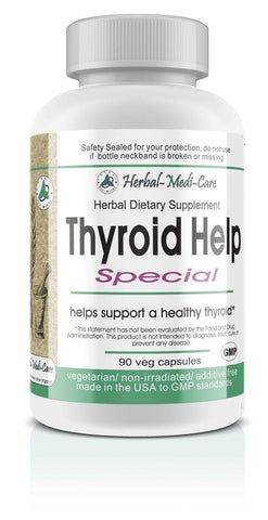 Thyroid Help Special 90 Vegetarian Caps - The Posh Lyfe Style