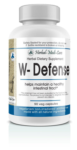 Whole Food W-Defense (Intestinal Invaders) Vegetarian Capsules; 90-Count - The Posh Lyfe Style