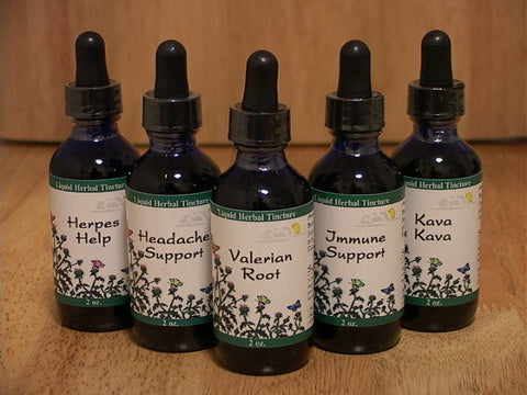 Herbal Tinctures - The Posh Lyfe Style