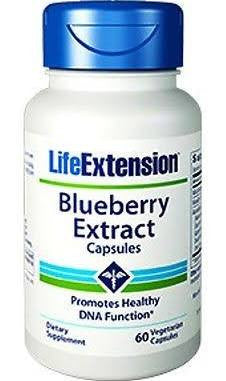 Life Extension Blueberry Extract - The Posh Lyfe Style