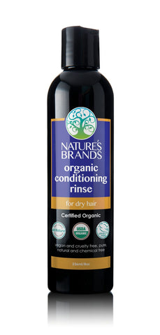 Organic Conditioning Rinse for Dry Hair (236ml/8floz) - The Posh Lyfe Style