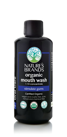 Organic Mouth Wash 1:10 Concentrate - The Posh Lyfe Style