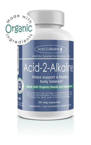 Alkalizing Vegetarian Capsules, 90 Count, Made with Organic - The Posh Lyfe Style
