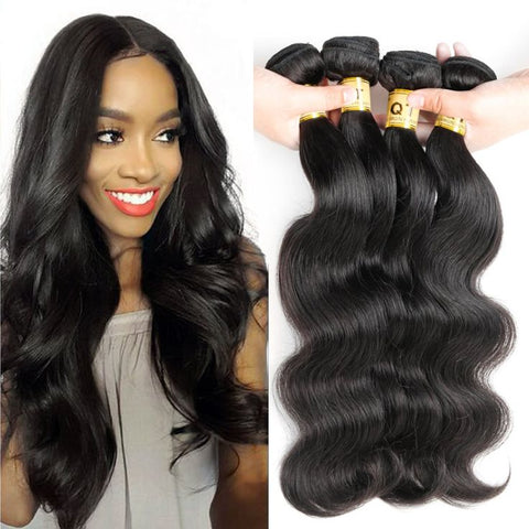 Top Quality 10A Grade Brazilian Mink Virgin Body Wave Hair Bundle Deals - The Posh Lyfe Style