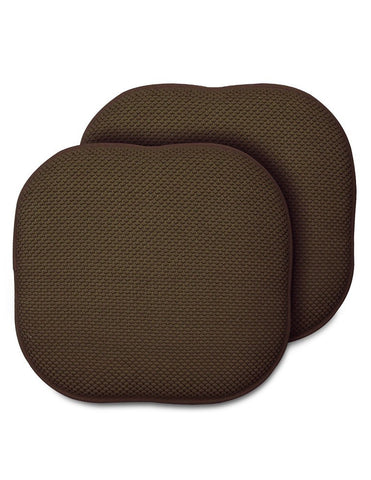 "Memory Foam Chair Pad- 16""x16""- Multiple Colors - The Posh Lyfe Style"