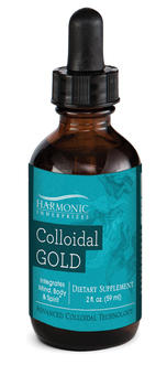Colloidal Gold  (2 fl oz) - The Posh Lyfe Style