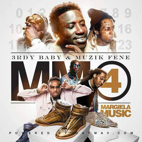 3rdy Baby & Muzikfene - Margiela Music 4 - The Posh Lyfe Style