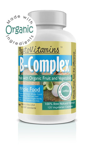B-Complex, 120 Vegetarian Capsules, Made with Organic - The Posh Lyfe Style