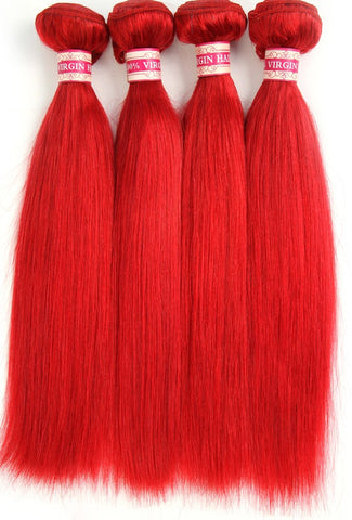 Top Quality 10A Brazilan Mink Red Hair Bundles - The Posh Lyfe Style