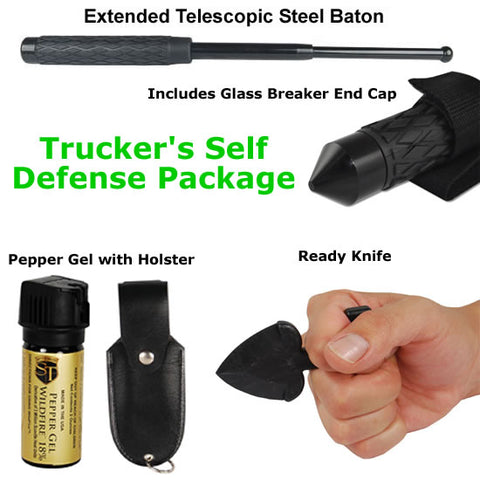 Trucker Self Defense Package - The Posh Lyfe Style