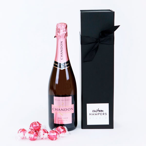 Pink Chandon & Lindt