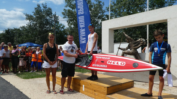 Newcomer champions are already using NELO boats