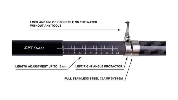 Kayak Shaft Adjustable