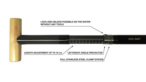 Canoe Shaft Adjustable