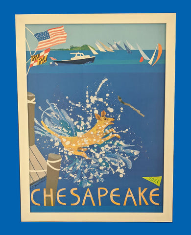 The 2021 Chesapeake Poster V.1 Frame Only