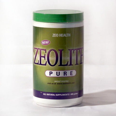 Zeolite Pure powder - Removes heavy metals & toxins from the body