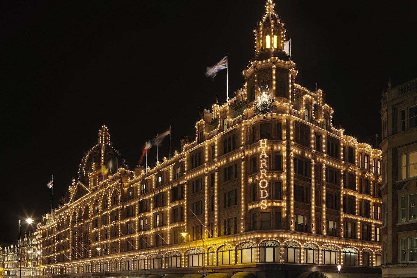 Salle Privée at Harrods London