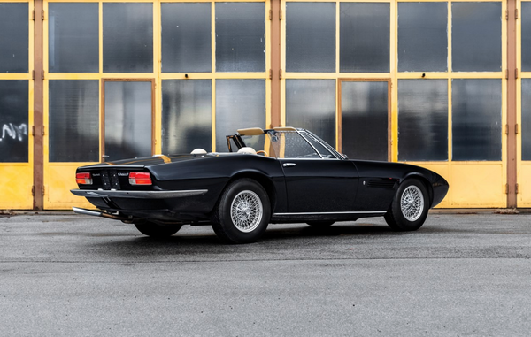 1970 Maserati Ghibli 4.7 Spyder by Ghia, Sotheby's Fifth Annual Sale in Paris