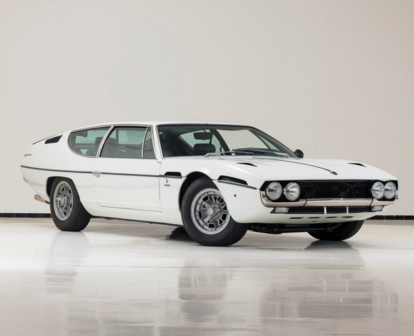 1970 Lamborghini Espada Series II by Bertone, Sotheby's Fifth Annual Sale in Paris