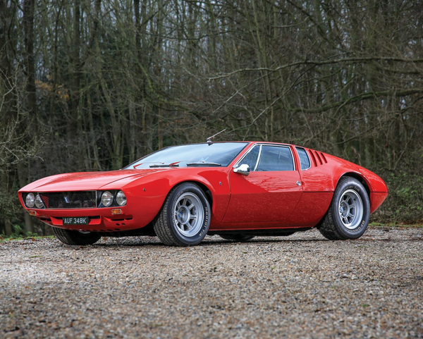 1972 De Tomaso Mangusta by Ghia, Sotheby's Fifth Annual Sale in Paris