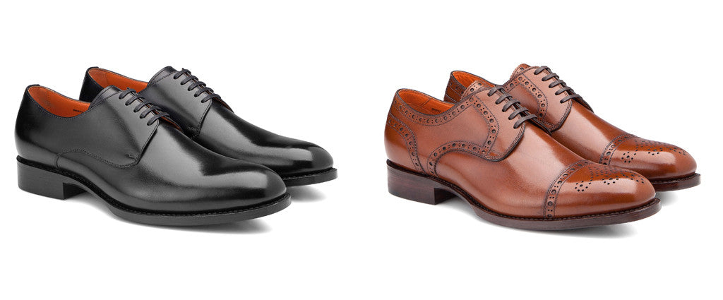 SALLE PRIVÉE Logan Derby & Logan Brogues Shoes