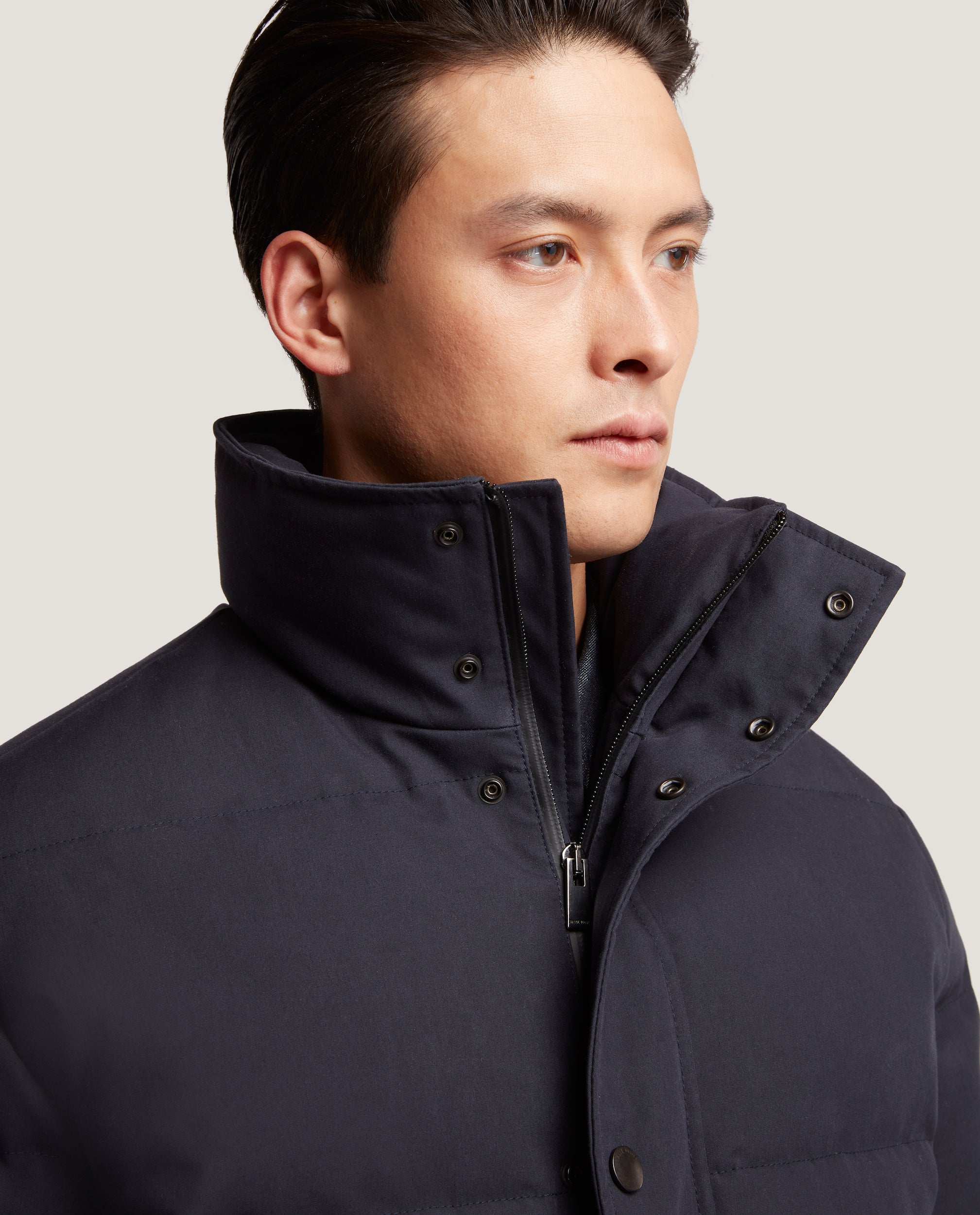 ARNE Down Jacket | Quilted Shell | Night Blue